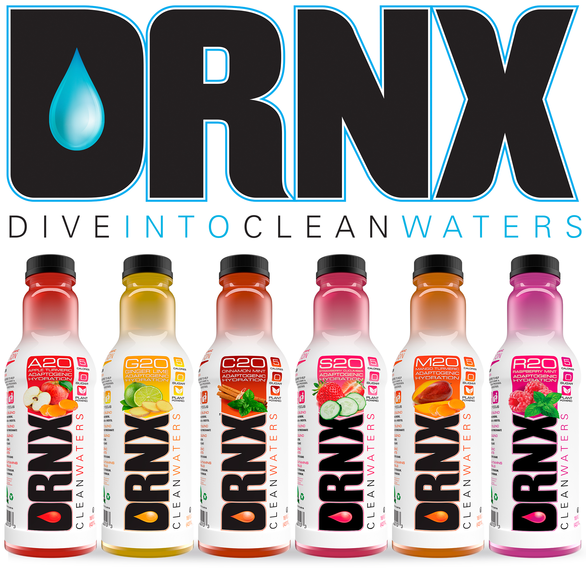 DRNX Adoptogenic Spice and Infused Waters